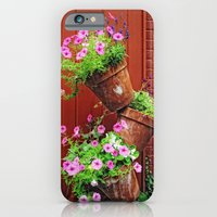 Potted Petunias iPhone 6 Slim Case
