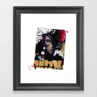 CLOCKWORK :: TIC TAC Framed Art Print