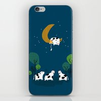 A Cow Jump Over The Moon iPhone & iPod Skin
