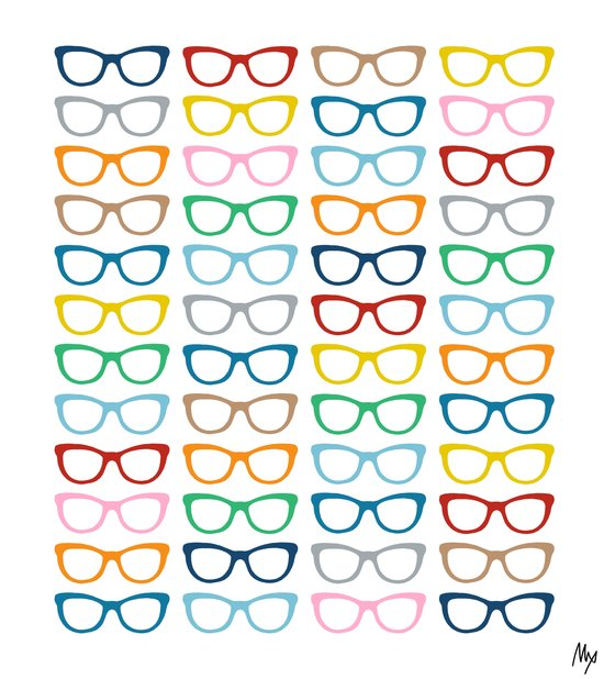 Glasses #2 Art Print