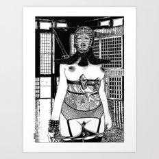 asc 437 - La vestale (I can't kiss) Art Print