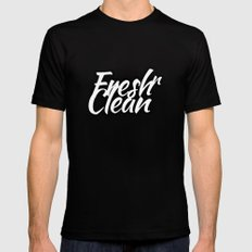 freshnclean SMALL Black Mens Fitted Tee