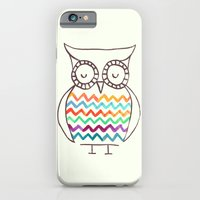 Chevron Owl iPhone 6 Slim Case
