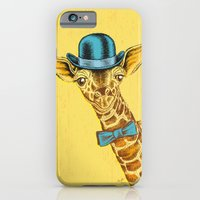 I'm too SASSY for my hat! Vintage Painted Giraffe. iPhone 6 Slim Case