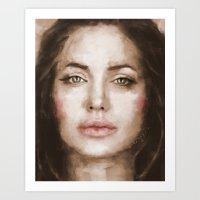 Jolie Art Print
