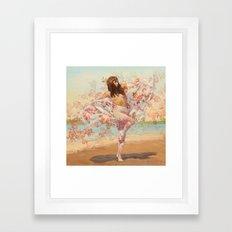 Maigold Framed Art Print