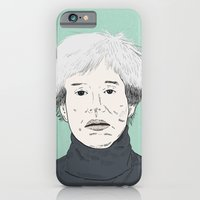 iPhone & iPod Case featuring Andy Warhol by Sam Scales