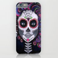 Sugar Skull Candy 2 iPhone 6 Slim Case