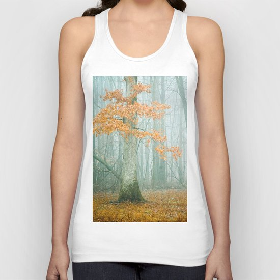 Autumn Woods Unisex Tank Top
