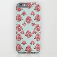 Flower Print iPhone 6 Slim Case