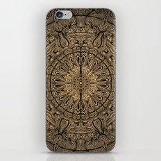 Sepia Mandala iPhone & iPod Skin