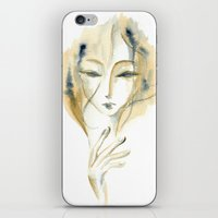 Madame Ochre iPhone & iPod Skin