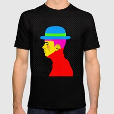 Mr. Colors Mens Fitted Tee Black SMALL