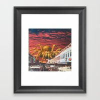 It Came From The Desert Framed Art Print