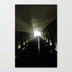 Ligth Games II Canvas Print