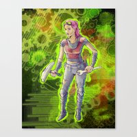 Steampunk Goddess Canvas Print