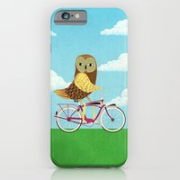 Owl Bicycle iPhone 6 Slim Case