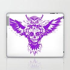 SUGAR SKULL OWL PURPLE  Laptop & iPad Skin