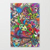 Canvas Print featuring Vnc by Esra Sabuncu (kiiarella)
