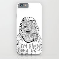 iPhone & iPod Case featuring BIG DEAL by WASTED RITA