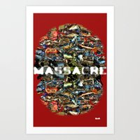 MASSACRE Art Print