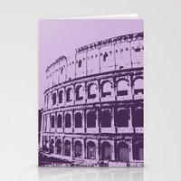 Purpura Coliseum Stationery Cards