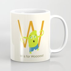W is for Woooo! Mug