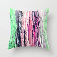 Wax #2 Throw Pillow