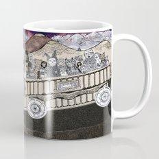 Animals on a Wagon Mug