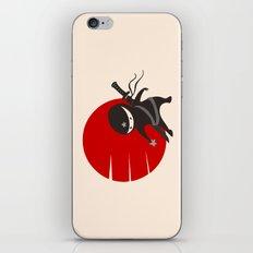 LITTLE NINJA STAR iPhone & iPod Skin