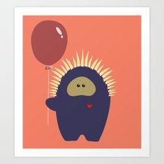 Love Monster 4 Art Print