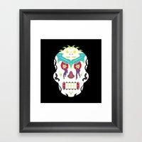 White Knuckle Ride Framed Art Print