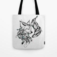 Fox B&W  Tote Bag