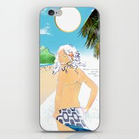 garota de ipanema iPhone & iPod Skin