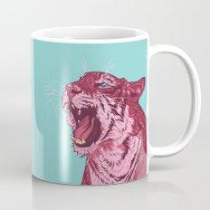 Magenta tiger Mug