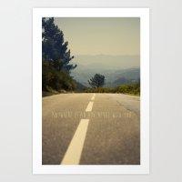 Anywhere Is An Adventure… Art Print
