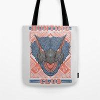 Hunting Club: Nargacuga  Tote Bag