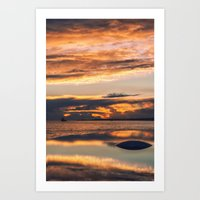 Sunset from the Champalimaud Foundation Art Print