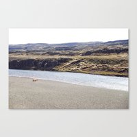 In the middle of nowhere, Iceland Canvas Print