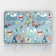 Christmas Laptop & iPad Skin