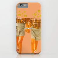iPhone & iPod Case featuring Unusual Thing by Alicia Ortiz