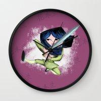 Mulan 2 Wall Clock