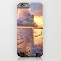 iPhone & iPod Case featuring Stormy Glow by JMcCool