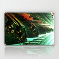 Cannon Battery (Pixel Explosion) Laptop & iPad Skin