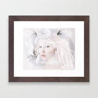 Heart of Glass Framed Art Print