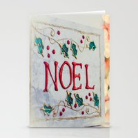 Noel Merry Christmas Stationery Cards