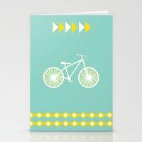 Saturday Bike Ride Stationery Cards