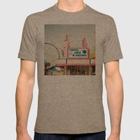 Carnival Funnel Cake Factory  Mens Fitted Tee Tri-Coffee SMALL
