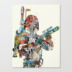 modern wars 3 Canvas Print
