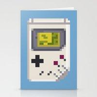 8-BIT Retro Console & Ga… Stationery Cards